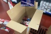 Intervenidas 400 cajetillas de tabaco de contrabando en cuatro tiendas y un chiringuito de la capital