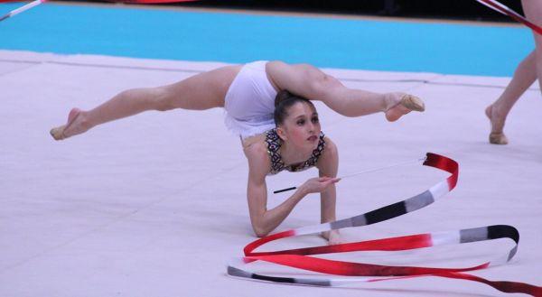 Valeria Márquez participa en el Mundial junior de gimnasia rítmica de Moscú