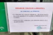 El cierre de la biblioteca pública Villaespesa por las tardes provoca una queja ante el Parlamento andaluz