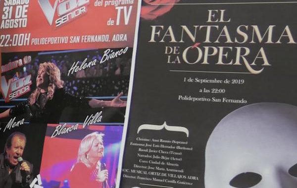 Adra presenta la programación de conciertos y eventos para la Feria 2019