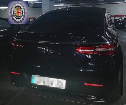coche robado