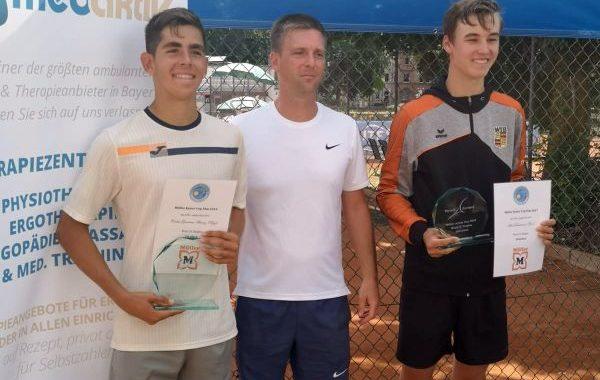 Primer título internacional para el tenista almeriense Carlos Guerrero