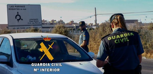 Guardia Civil. Aguadulce