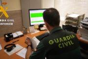 La Guardia Civil detiene a un joven de Huércal-Overa por vender trabajos de fin de grado y máster por internet