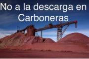 Aguamarga, en contra de la llegada de mineral de hierro a Carboneras