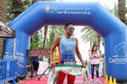 Bienvenido Ballester Martínez y Sonia Barrera Vargas ganan el triatlón de Carboneras