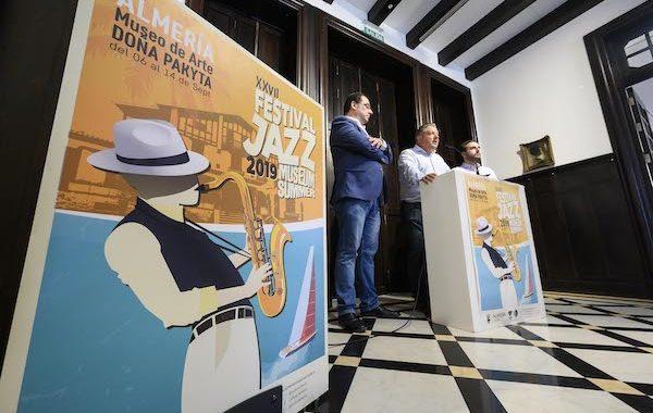 XXVII Festival de Jazz de Almería, la música y el arte dialogarán del 6 al 14 de septiembre