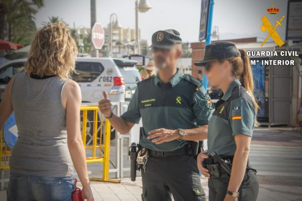 Huerto. Guardia Civil