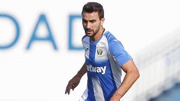 El delantero Juan Muñoz regresa a la UD Almería cedido por el Leganés