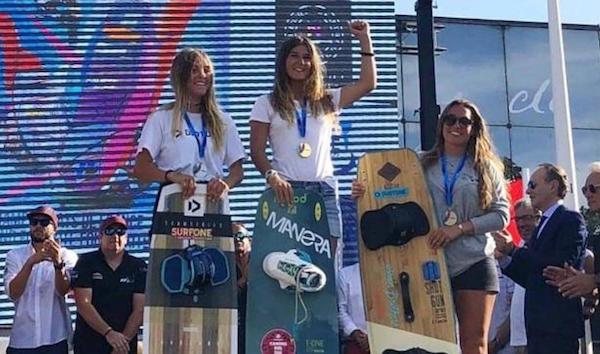 La mojaquera Osaïa Reding gana el campeonato de Francia de Kitesurf