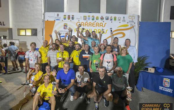 300 corredores participan en la carrera popular de Tíjola