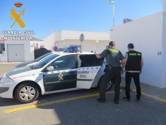 detención por lesiones arma blanca
