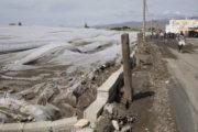 Coag calcula que la tormenta ha arrasado en la provincia de Almería unas 200 hectáreas de invernaderos