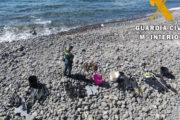 Sorprenden a cuatro hombres pescando especies protegidas en la reserva marina de Cabo de Gata