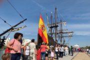 Almería recibe la réplica de la nao Victoria, el barco que dio la primera vuelta al mundo