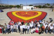 Almería bate el récord Guinness con el corazón de hortalizas mas grande del mundo