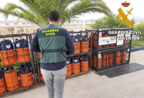 Butano. Guardia Civil