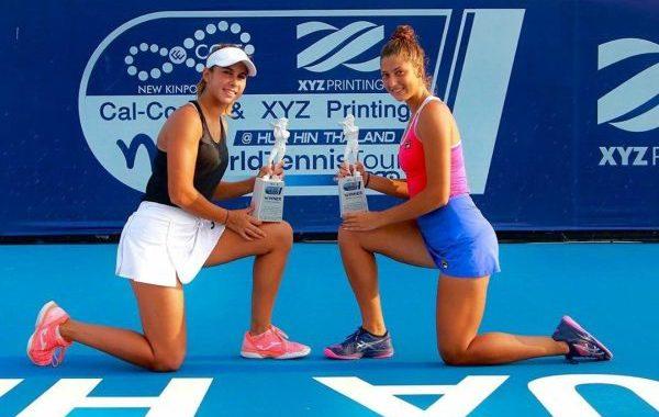 La almeriense Eva Guerrero gana en dobles su segundo título del año