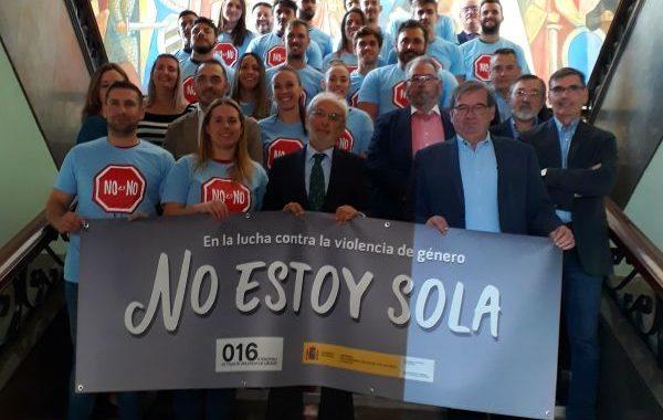 Deportistas almerienses se unen a la lucha activa contra la violencia machista