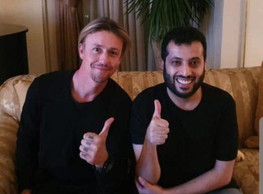 Guti y Turki Al Alshikh