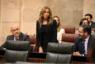 Jura su cargo la almeriense Mercedes López (Cs), primera diputada de Andalucía con discapacidad visual
