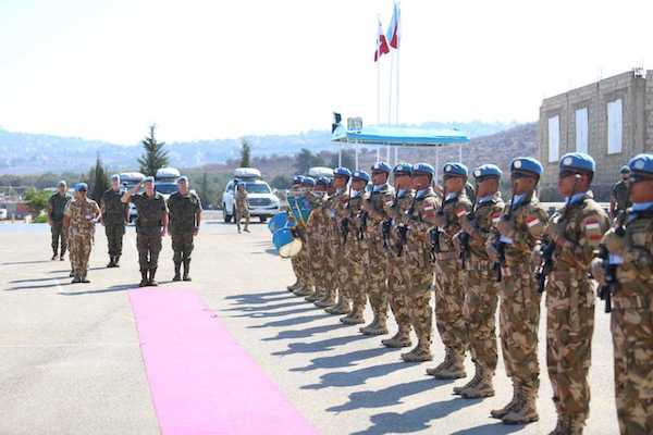 Militares a Líbano