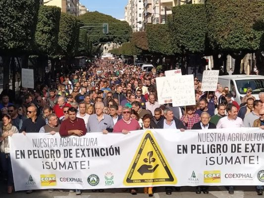 Movilización agraria 19N