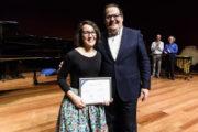 La almeriense María del Pilar Miralles gana el 2º premio en el XXX Jóvenes Compositores Fundación SGAE-CNDM 2019