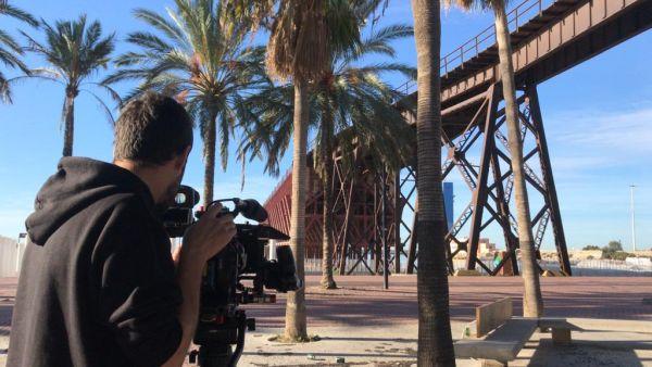 Rodaje en Almería