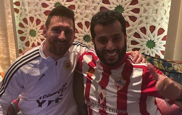 Messi y Turki Al-Alshikh, encuentro en Arabia Saudí