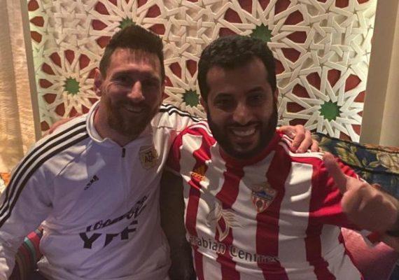 Messi y Turki