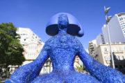 Llegan a Almería 19 'Meninas' que animan al reciclaje de vidrio en distintos puntos de la capital