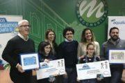 Premiadas dos niñas del Bajo Andarax por seguir la pista del agua en el concurso de Aqualia