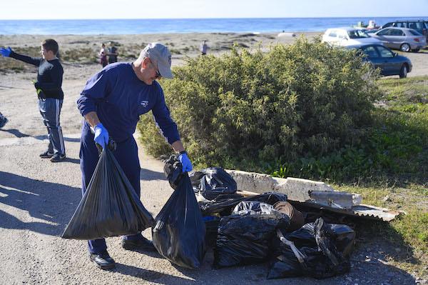 recogida limpieza playas