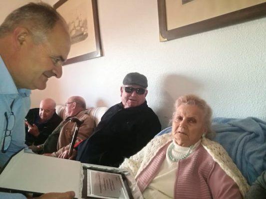 vecina balerma 101 años