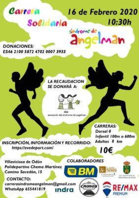 Carrera solidaria síndrome de Angelman