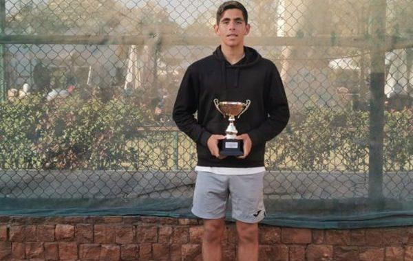 El almeriense Carlos Guerrero gana su primer ITF Junior en Egipto