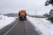 La nieve mantiene cerradas 6 carreteras de Almería y obliga al uso de cadenas en otras 13