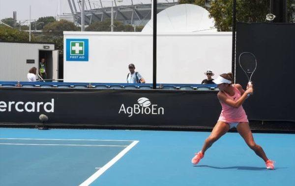 La almeriense Eva Guerrero cae en el Open de Australia de tenis