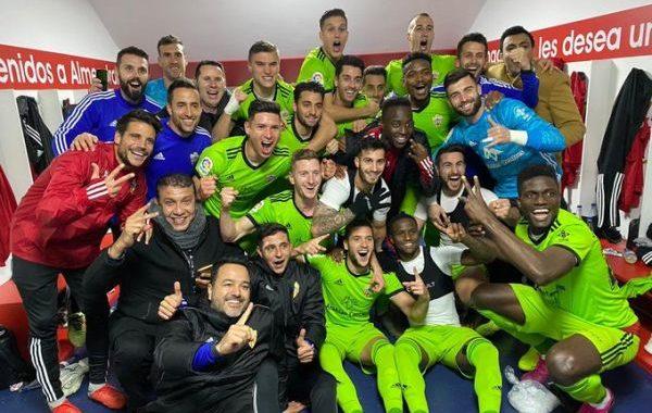 El Almería, nuevo líder de la clasificación tras ganar al Extremadura