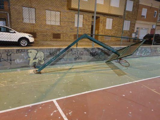 canasta baloncesto Loma Cabrera