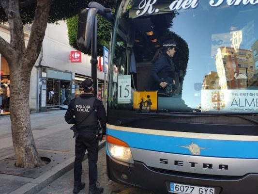 CAMPAÑA POLICIA LOCAL DGT - BUS ESCOLAR-