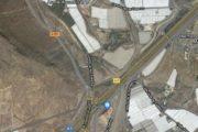 Limitación temporal a la circulación para vehículos pesados en la autovía A-7 entre Roquetas de Mar y Almería