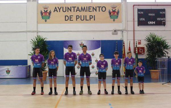 Presentado un nuevo club ciclista: La Geoda de Pulpí