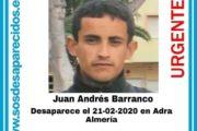 Desaparecido un hombre de 40 años en Adra