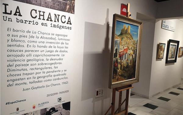 'La Chanca. Un barrio en imágenes' prorroga su estancia en el Museo Doña Pakyta de Almería