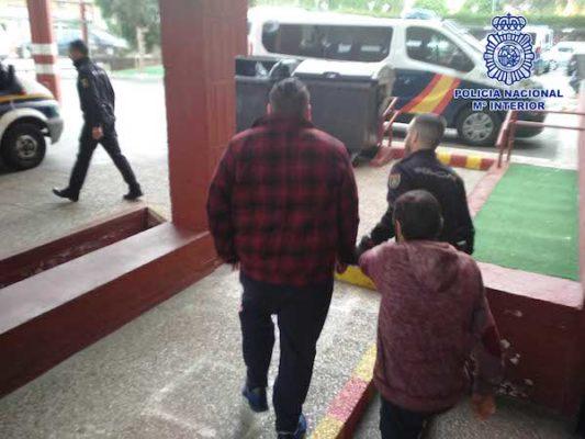 Policía Nacional detención