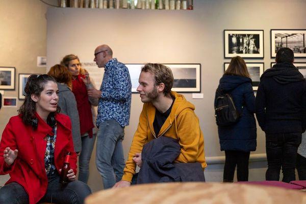 Exposición en LaOficina Foto Guille Bossini