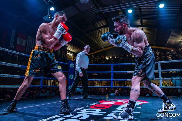 Boxeo. Salvador Barón
