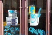 'La Resistencia' denuncia ataques vandálicos contra su local en Almería